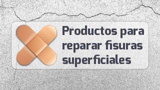 productos de reparación fisuras